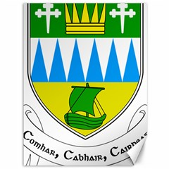 Coat of Arms of County Kerry Canvas 36  x 48