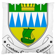 Coat of Arms of County Kerry Large Cushion Case (Two Sides)