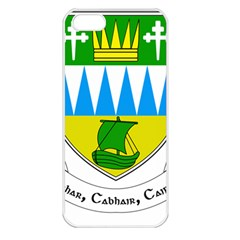Coat of Arms of County Kerry Apple iPhone 5 Seamless Case (White)
