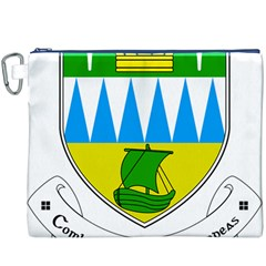 Coat of Arms of County Kerry Canvas Cosmetic Bag (XXXL)