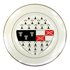 County Kilkenny Coat of Arms Porcelain Plates