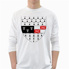 County Kilkenny Coat of Arms White Long Sleeve T-Shirts