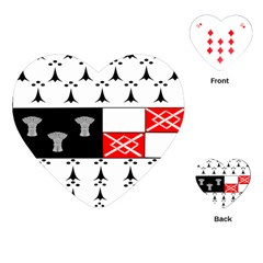 County Kilkenny Coat of Arms Playing Cards (Heart)