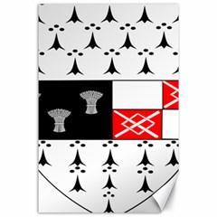 County Kilkenny Coat of Arms Canvas 24  x 36