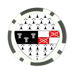 County Kilkenny Coat Of Arms Poker Chip Card Guard
