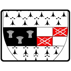 County Kilkenny Coat of Arms Fleece Blanket (Large)
