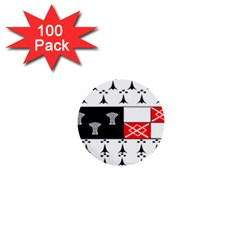 County Kilkenny Coat of Arms 1  Mini Buttons (100 pack)