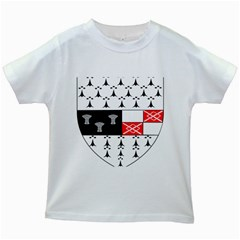 County Kilkenny Coat of Arms Kids White T-Shirts