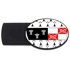County Kilkenny Coat of Arms USB Flash Drive Oval (2 GB)