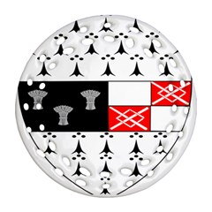 County Kilkenny Coat of Arms Ornament (Round Filigree)
