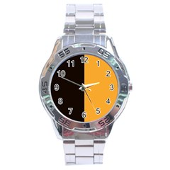 Flag of County Kilkenny Stainless Steel Analogue Watch