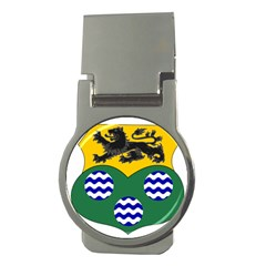 County Leitrim Coat of Arms Money Clips (Round)