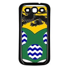 County Leitrim Coat Of Arms Samsung Galaxy S3 Back Case (black)