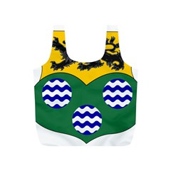 County Leitrim Coat of Arms Full Print Recycle Bags (S)