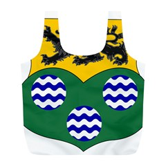 County Leitrim Coat of Arms Full Print Recycle Bags (L)