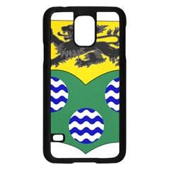 County Leitrim Coat of Arms Samsung Galaxy S5 Case (Black)