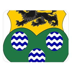 County Leitrim Coat of Arms Double Sided Flano Blanket (Large)
