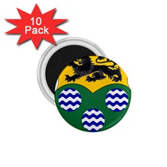 County Leitrim Coat of Arms  1.75  Magnets (10 pack)