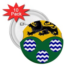 County Leitrim Coat of Arms  2.25  Buttons (10 pack)