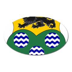 County Leitrim Coat of Arms  Oval Magnet