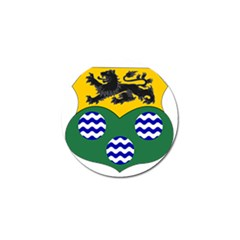 County Leitrim Coat of Arms  Golf Ball Marker