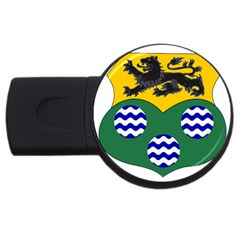 County Leitrim Coat of Arms  USB Flash Drive Round (2 GB)