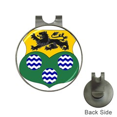 County Leitrim Coat of Arms  Hat Clips with Golf Markers
