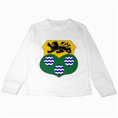 County Leitrim Coat of Arms  Kids Long Sleeve T-Shirts