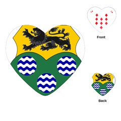 County Leitrim Coat of Arms  Playing Cards (Heart)
