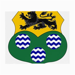County Leitrim Coat of Arms  Small Glasses Cloth (2-Side)