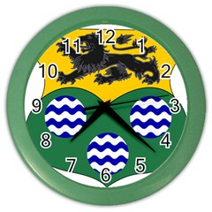County Leitrim Coat of Arms  Color Wall Clocks
