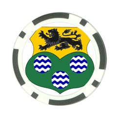 County Leitrim Coat of Arms  Poker Chip Card Guard