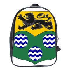 County Leitrim Coat of Arms  School Bags(Large)