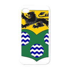 County Leitrim Coat of Arms  Apple iPhone 4 Case (White)