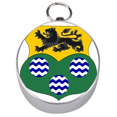 County Leitrim Coat of Arms  Silver Compasses