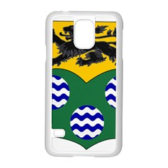 County Leitrim Coat of Arms  Samsung Galaxy S5 Case (White)