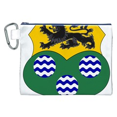 County Leitrim Coat of Arms  Canvas Cosmetic Bag (XXL)