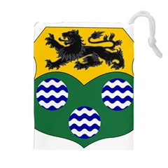 County Leitrim Coat of Arms  Drawstring Pouches (Extra Large)