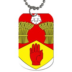 County Londonderry Coat of Arms Dog Tag (One Side)