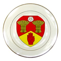 County Londonderry Coat of Arms Porcelain Plates