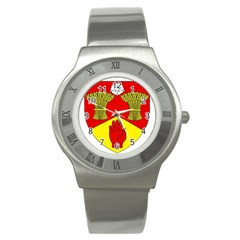 County Londonderry Coat of Arms Stainless Steel Watch