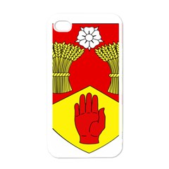 County Londonderry Coat of Arms Apple iPhone 4 Case (White)