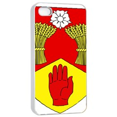 County Londonderry Coat of Arms Apple iPhone 4/4s Seamless Case (White)