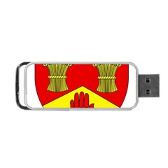 County Londonderry Coat of Arms Portable USB Flash (One Side)