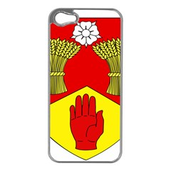 County Londonderry Coat of Arms Apple iPhone 5 Case (Silver)