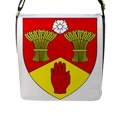 County Londonderry Coat of Arms Flap Messenger Bag (L)