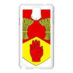 County Londonderry Coat of Arms Samsung Galaxy Note 3 N9005 Case (White)