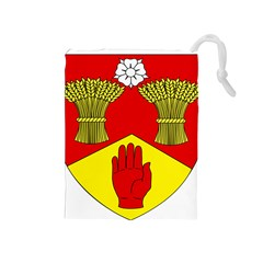 County Londonderry Coat of Arms Drawstring Pouches (Medium)