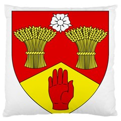 County Londonderry Coat of Arms Large Flano Cushion Case (Two Sides)