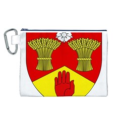 County Londonderry Coat of Arms Canvas Cosmetic Bag (L)